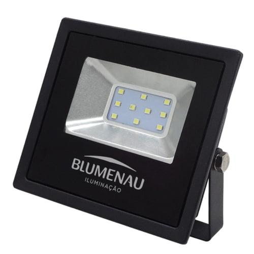 Refletor LED Slim 30W Luz Decorativa Verde Bivolt - BLUMENAU