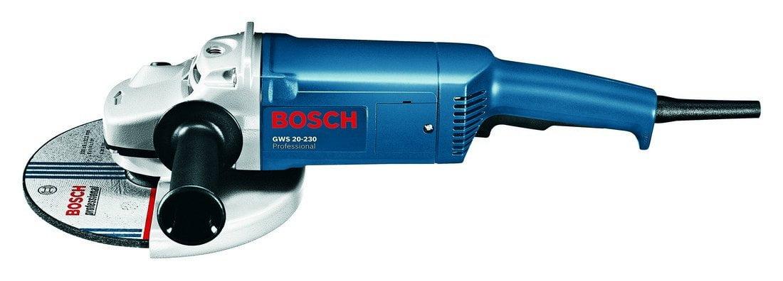 Esmerilhadeira Angular de 9 Pol. 2000W - BOSCH-GWS20