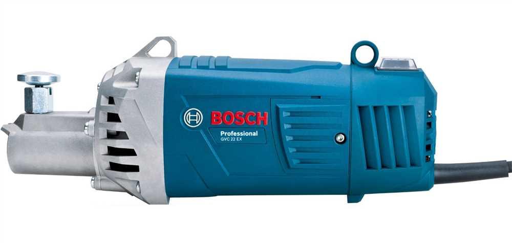 Vibrador de Concreto Profissional 2200W sem Mangote - BOSCH- GVC22EX
