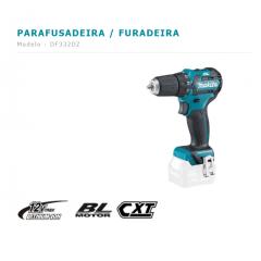 PARAFUSADEIRA / FURADEIRA A BATERIA  MODELO DF332DZ