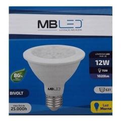 Lampada led par30 12w 6000k - Mb Led