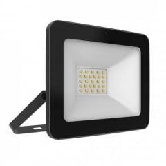 Refletor LED 10W Preto TR Taschibra 6500K Luz Branca