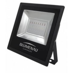Refletor LED Slim 50W Luz Branca 6.000K Bivolt - BLUMENAU