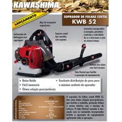 SOPRADOR DE FOLHAS KAWASHIMA KWB 52